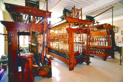 Un des derniers véritables ateliers-maison de canuts de la Croix-Rousse