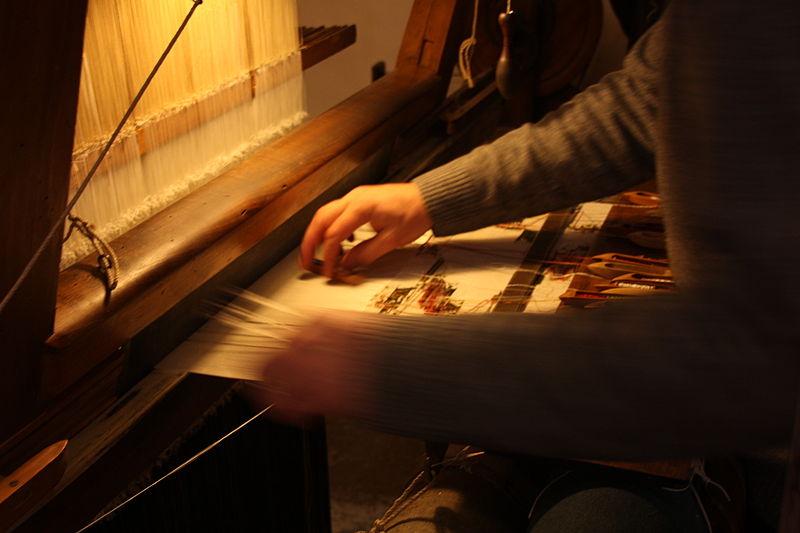 Maison des Canuts - métier à tisser